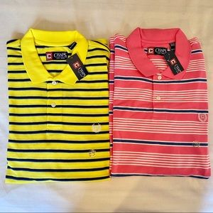 2for1 NWT MEN'S POLO / CHAPS SHORT SLEEVE